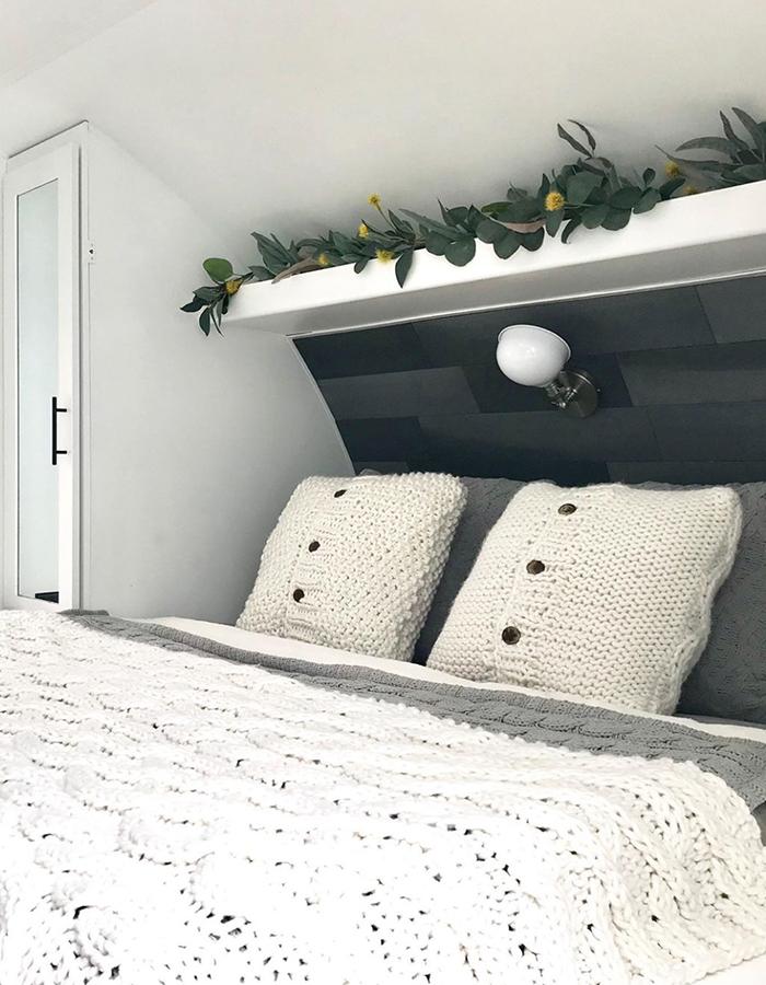 Modern RV Bedroom Renovation