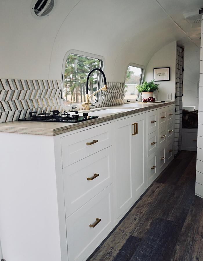 Airstream Kitchen Renovation