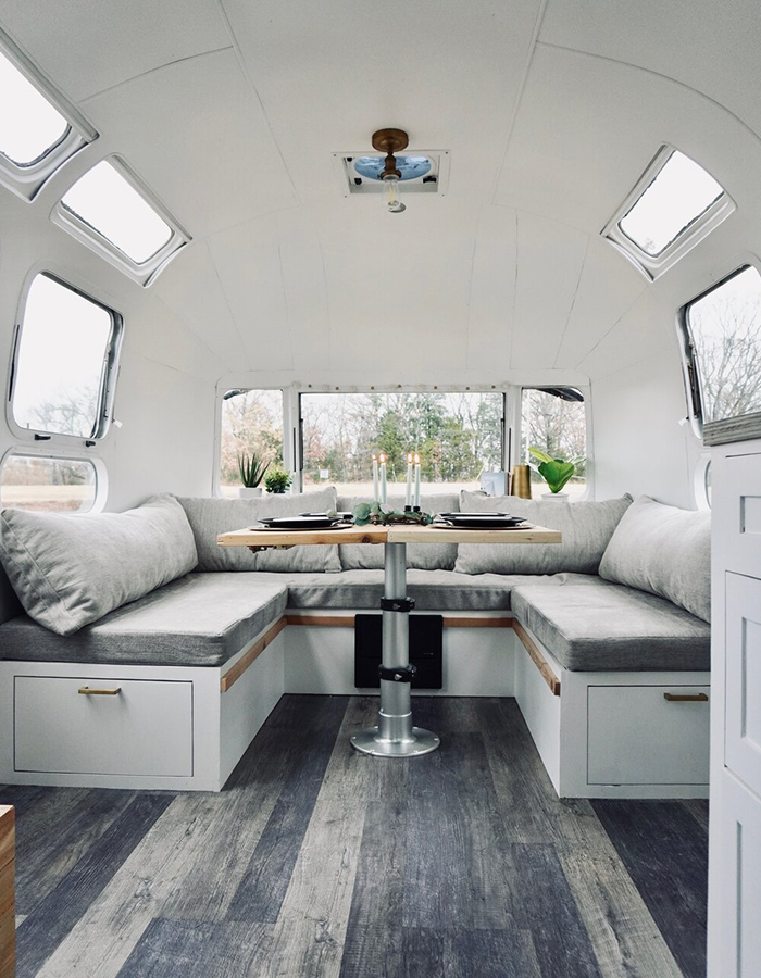Airstream Dinette Renovation