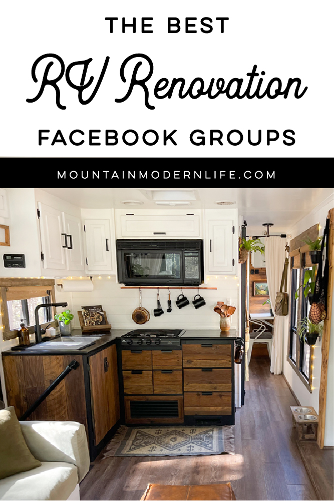 Best RV Renovation Facebook Groups