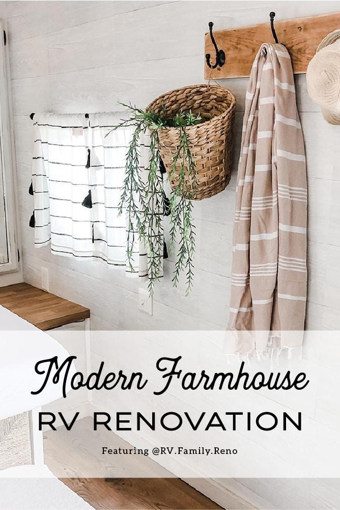 Farmhouse-inspired RV