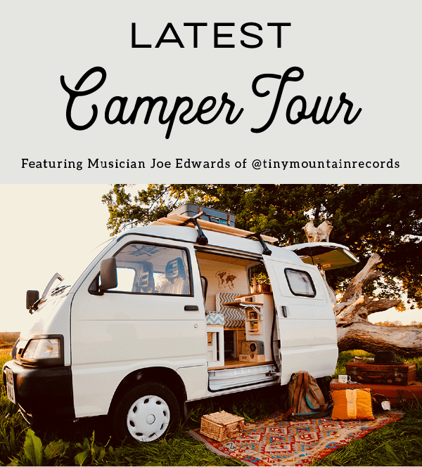 latest camper tour