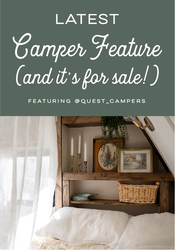 vintage country camper renovation