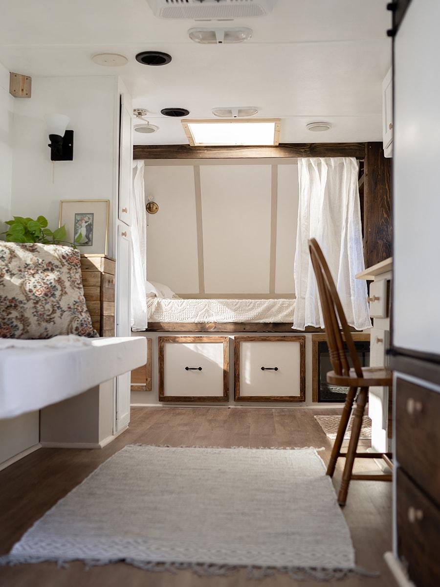 vintage-inspired camper renovation