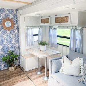 updated RV interior